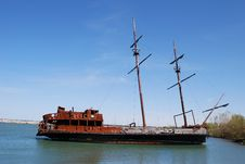 Free Old Ship Stock Photography - 14564452