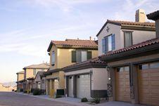 Free Neighborhood Homes In Suburbs Stock Photos - 14564483