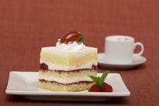 Slice Of Cake Royalty Free Stock Photo