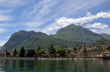 Mountains Near Lake Como In Italy Royalty Free Stock Image