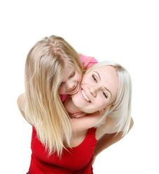 Free Happy Mother And Daughter Royalty Free Stock Photo - 14565435