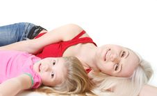 Free Happy Mother And Daughter Royalty Free Stock Photos - 14565458