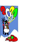 2011, Snowman Royalty Free Stock Images