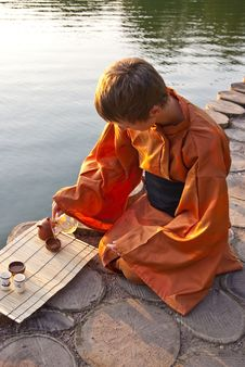 Free Tea Ceremony Master Royalty Free Stock Photo - 14565745