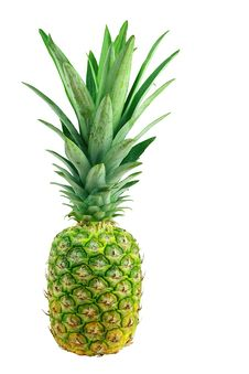 Free Fresh Pineapple Royalty Free Stock Photography - 14566497