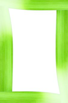 Free Leek Frame Royalty Free Stock Photos - 14566518