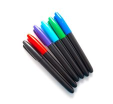 Free Set Of Multi-coloured Pens Stock Images - 14567014