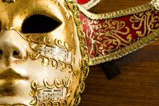 Free Venice Mask Stock Photography - 14567492