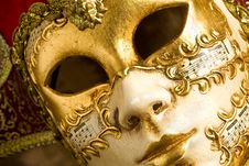 Free Venice Mask Stock Photography - 14567592