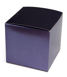 Free Blue Cardboard Box For Perfume Royalty Free Stock Photo - 14568015
