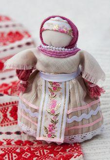 Free Traditional Ukrainian Doll Stock Image - 14568061