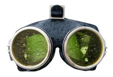 Free Green Spectacles With Drops Stock Photos - 14568113