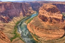 Free Horseshoe Bend Stock Photo - 14568520