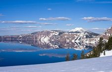 Free Crater Lake Royalty Free Stock Images - 14568589