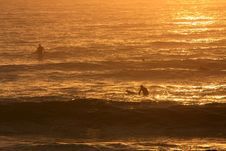 Free Last Waves Of The Day Royalty Free Stock Photos - 14568798