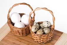 Free Eggs In Basket Royalty Free Stock Photos - 14568958