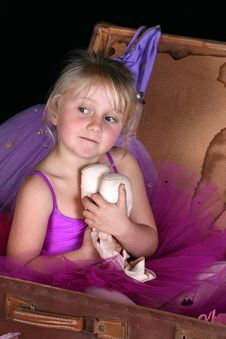 Free Blond Ballerina Royalty Free Stock Images - 14569059