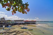 Hua Hin Landscape,Thailand Stock Images