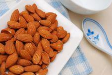 Free Almond As Food Ingredient Royalty Free Stock Photo - 14569635