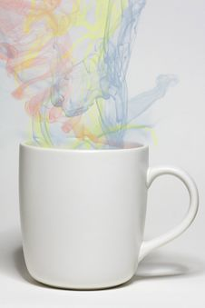 Free Magic Smoke In A Cup Stock Photos - 14569843
