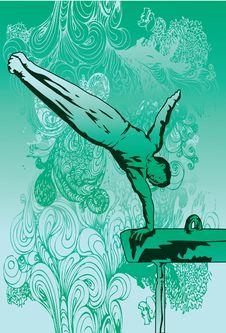 Free Flexible Gymnast Stock Photography - 14569962