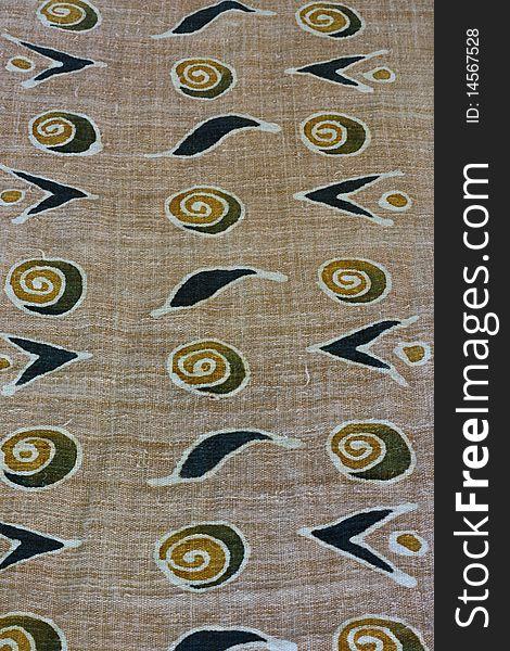 Earth Tone Batik