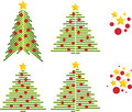 Free Christmas Trees Vector Stock Photos - 14574063