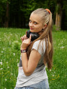 Free Girl On Meadow Royalty Free Stock Photo - 14575815