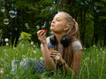 Free Girl On Meadow Stock Photography - 14576012
