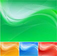 Free Green Abstract Background Royalty Free Stock Images - 14570149