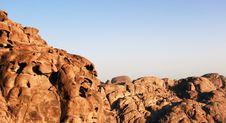 Free Sunrise Over Sinai Mounts Royalty Free Stock Photography - 14570217