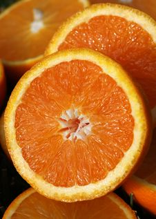 Free Orange Slices Royalty Free Stock Image - 14570336