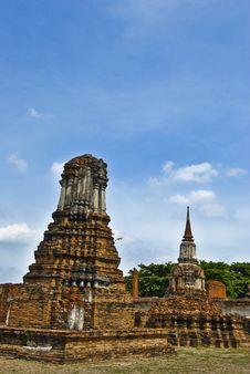 Free Ayutthaya. Royalty Free Stock Photo - 14570455