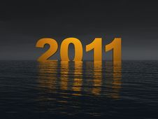 Free Year 2011 Threat Royalty Free Stock Photos - 14570518