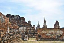 Free Ayutthaya. Royalty Free Stock Image - 14570746