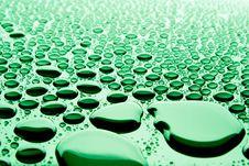 Free Beautiful Drops Of Water Royalty Free Stock Photo - 14571095