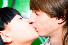 Free Kissing Couple Stock Photos - 14571193
