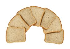 Free Slices Of Bread Isolated Stock Image - 14571331