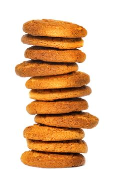 Free Oatmeal Cookies Royalty Free Stock Image - 14571336