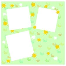 Free Crazy Shapes Frame Stock Images - 14571634