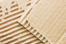 Free Cardboard Structure. Macro. Stock Photo - 14572450