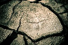 Free The Soil In The Fissures Stock Photo - 14572490