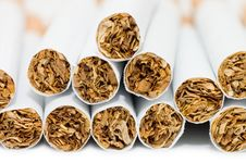Free Cigarettes Close Up Stock Photography - 14572542