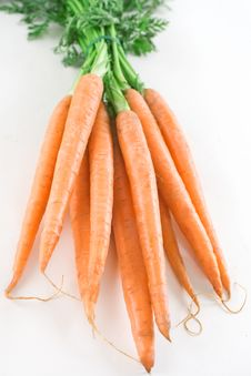 Free Carrots Royalty Free Stock Image - 14573266