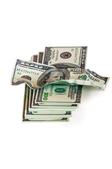Free A Pile Of Hundred-dollar Bills Stock Images - 14573594