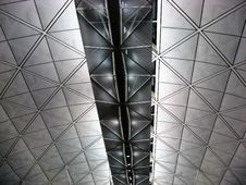 Free Ceiling Of Hong Kong Airport Stock Photo - 14573650