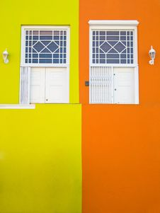 Free White Doors And Bright Walls Stock Photography - 14574042