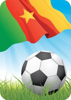 Free World Soccer Championship 2010 - Cameroon Stock Images - 14574124