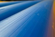 Free Blue Pipeline Royalty Free Stock Photography - 14574557