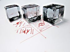 Free Three Cubes Stock Photos - 14575033